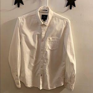 American Eagle men's oxford button down shirt